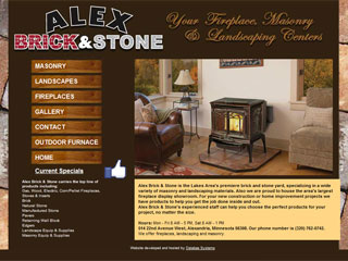 Alex Brick & Stone website