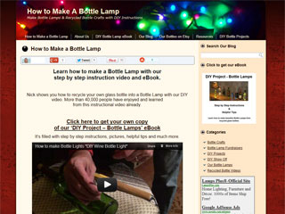 Tips on recycled glass bottle drilling & bottle crafts