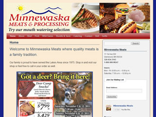 Minnewaska Meats Glenwood Mn