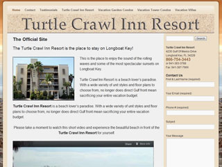 Turtle Crawl Inn Resort in Longboat Key, FL