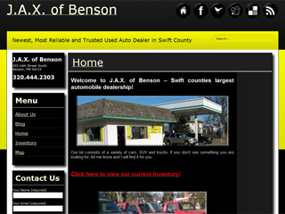 Car Dealer - Jax of Benson