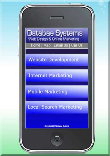 Databae Systems builds mobile sites for smart phones