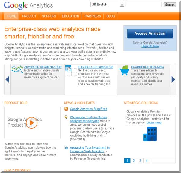 Databae Systems will set up your website analytics