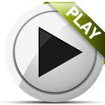 Web Video Play button