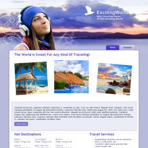 Exciting World Web Design