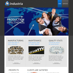 Industria Website Design