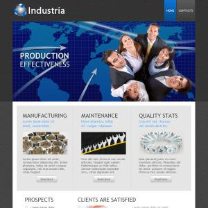 Industria Website Design