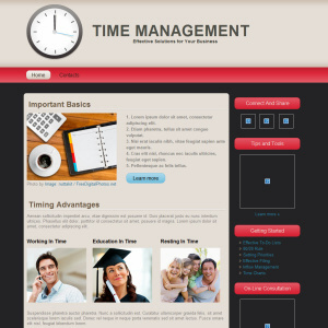 Time Mgmt Web Design