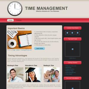 Time Mgmt Web Design